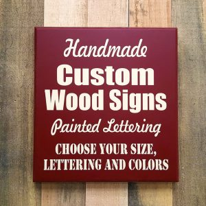 Custom Signs WorkShop